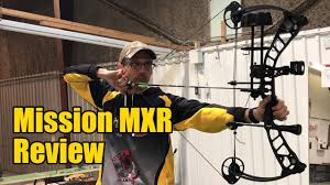 Mission Mxr Hunting Bow Review And Speed Test
