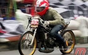 drag bike 2014 cimahi bowo vs batank derbi ninja tune up 155