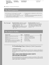 free cash flows example the analysis of the cash flow statement pdf