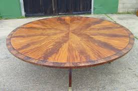 round table that gets bigger furniture extra large round mahogany dining table large
