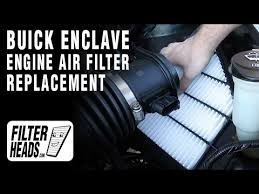 how to replace engine air filter 2008 2014 buick enclave v6 3 6l how to replace engine air filter 2008 2014 buick enclave v6 3 6l