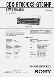sony car stereo wiring diagram fresh sony radio wiring harness related post