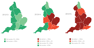 Uk Deficit Chart Chart The Changing Geography Of Nhs Deficits The Health