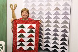 New Friday Tutorial: The One Seam Flying Geese Quilt & Advent Wall ... & Jenny Flying Geese web Adamdwight.com