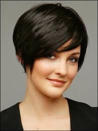 short hairstyles for fine straight hair modeled her sleek new bob for the first time in