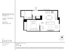 floor plan the austin junior 1 bedroom jpg view