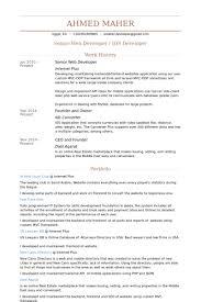 Senior Net Developer Resume 31155 | Plgsa.org