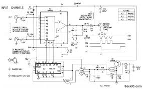 video system remote multiplexer box circuit diagram com the heart of the remote multiplexer box in the single coax video system fig 3 14 is a combination 8 channel multiplexer and amplifier ic1