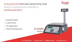 A New Generation Barcode Label Printing Scale Solution To