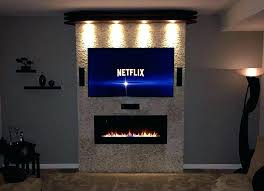 linear electric fireplace post linear electric fireplace with tv above