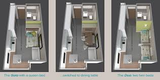 micro apartments floor plans. Perfect Floor 8  Via Arch Paper This Microapartment  And Micro Apartments Floor Plans M