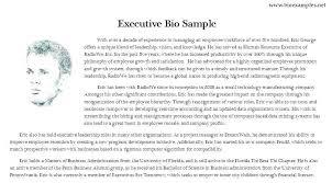 Artist Bio Template Professional Bio Examples Professional Artist