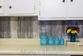 Wood Stove Backsplash Classy Reclaimed Wood Kitchen Backsplash Remodelaholic