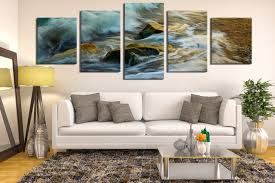 5 piece canvas photography living room canvas art prints green sea artwork rock on framed canvas wall prints with 5 piece canvas wall art green sea canvas print panoramic multi