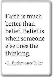 Quotes On Faith Magnificent Amazon Faith Is Much Better Than Belief Bel R