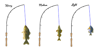 Rod Power Chart Fishing Rod Action Power Choose The Best Rod For You