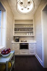 wallpapered pantry, heather scott austin, southern living home