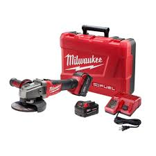 cordless grinder. milwaukee m18 fuel 18-volt lithium-ion brushless cordless 4-1/2 grinder