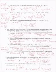 Arithmetic Sequence Worksheet Answers Recursive Arithmetic Sequence Worksheet Worksheet Kids