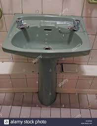 Avocado Bathroom Suite Classic 1970s 1980s Green Avocado Bathroom Suite Wash Hand Basin