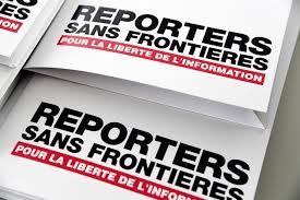 """Résultat de recherche d'images pour """"reporters sans frontières"""""""