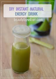 energy drink for instant energy