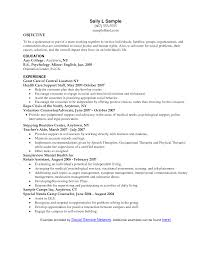 Resume Objective Social Work Surprising Examples Of Social Work Resumes Cover Letter Resume 1