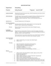 Cook Job Description For Resume Resume Templates For Kitchen Helper Therpgmovie 88