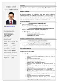 It Support Resume Resume