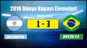 Arjantin 1 - 3 Brezilya | 2010 Dünya Kupası Eleme Maçı - YouTube