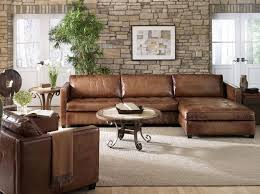 adorable distressed leather sectional sofa leather sectional sofas stoney creek design