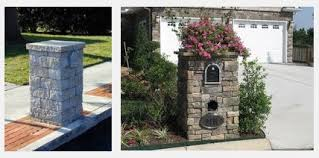 stone mailbox designs. 7 Tips How To Build A Stacked Stone Mailbox Designs U