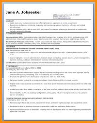 system administrator resume examples 2012 format for experienced network sample  systems entry level f