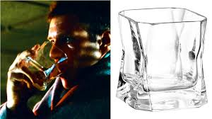 blade runner whiskey glass personalized