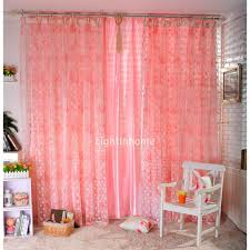 Pink Curtains For Bedroom Sweet Bedroom Designs With Pink Curtain For Girls Gorgeous White