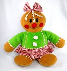 gingerbread woman.  Woman Vintage GINGERBREAD Woman GIRL Stuffed Plush SUGAR LOAF Christmas Doll Toy  12 With Gingerbread