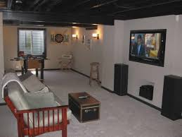 Unfinished basement ceiling fabric Playroom Good Unfinished Basement Ceiling Ideas Mattress Remodel Madeindesignco Good Unfinished Basement Ceiling Ideas Mattress Remodel Inspired