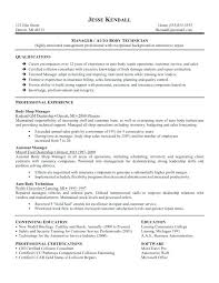 Auto Mechanic Resume Templates Medium Size Of Resume Sample Sample ...
