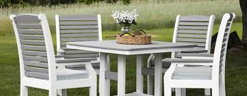CLASSIC TERRACE Outdoor Poly Dining Collection By Berlin Gardens Furniture