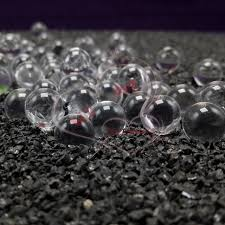 Decorative Glass Balls For Bowls 100mm Small Glass Fish Tank Glass Mini Transparent Round Crystal 55
