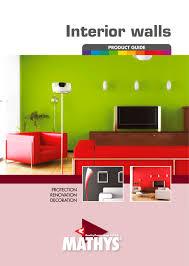 Interior Walls Product Guide Mathys Paints Pdf Catalogs