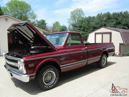 Chevy CST C10 Long Bed Pick-up Fire Mist Red