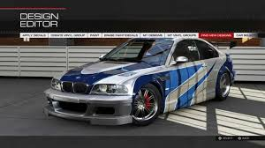 BMW Convertible 2005 bmw m3 gtr : Forza 5 - Remake of the BMW M3 GTR from Need for Speed Most Wanted ...