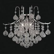 a93 silver 3 876 wall sconces wall sconce chandeliers crystal chandelier