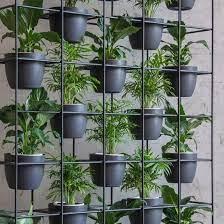 vertical garden freestanding green wall