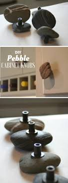 Diy Cabinet Knobs 12 Diy Pebble Cabinet Knobs Diy And Crafts Home