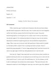 my essay my essay for glamour magazine here debby ryan  sponsors of literacy essay final draft1 literacy essays
