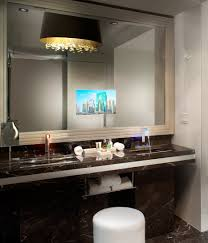 Bathroom:Bathroom Mirror With Tv In It For Bathroombathroom Screen Built 96  Fair Bathroom Mirror
