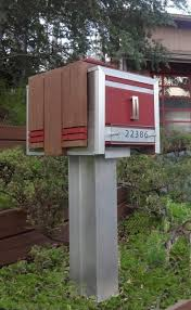 modern mailbox ideas. Contemporary Mailboxes \u2013 A Modern Look At Simple Object Mailbox Ideas