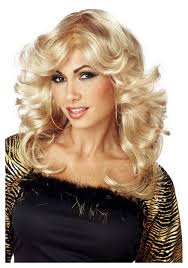 disco mama 70s wig